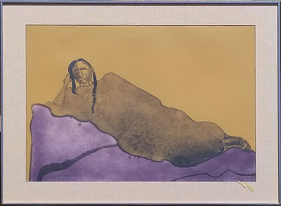Fritz Scholder, 'Reclining Indian Woman', 1976