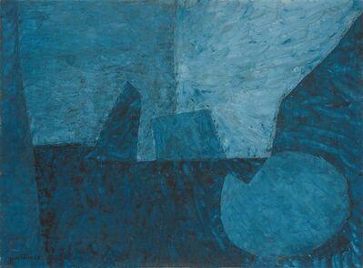 Serge Poliakoff, 'COMPOSITION EN BLEUE AU CERCLE II ', 1955