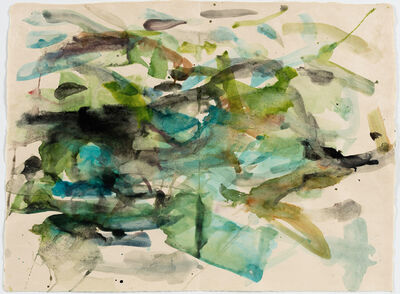 Mary Weatherford, 'river', 2015