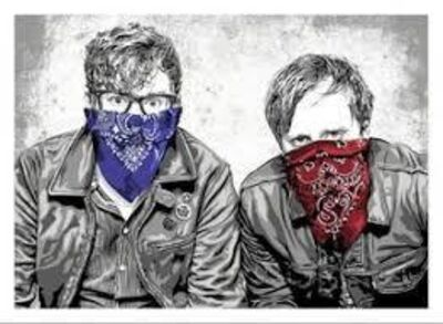 Mr. Brainwash, 'Black Keys LA I ', 2012