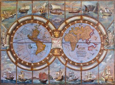 Vali Irina Ciobanu, 'History of sailing vessels map', 2016