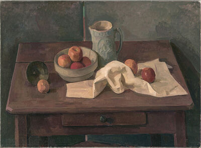 Wilbur Niewald, 'Still Life with Bowl of Apples and Grey Pitcher', 2011
