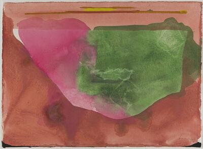 Helen Frankenthaler, 'Fiesta', 1973