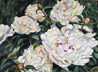 Ellen Kaiden, 'Passion of Peonies', 2017