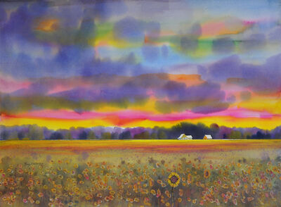 Gary Walters, 'Mississippi Sunflowers', 2019