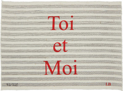 Louise Bourgeois, 'Toi et Moi', 2006