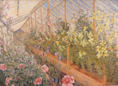 Edith A. Scott, 'In the Greenhouse', 1917