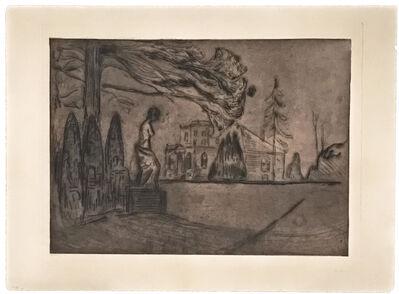 Edvard Munch, 'Hagen om Natten (The Garden at Night)', 1902