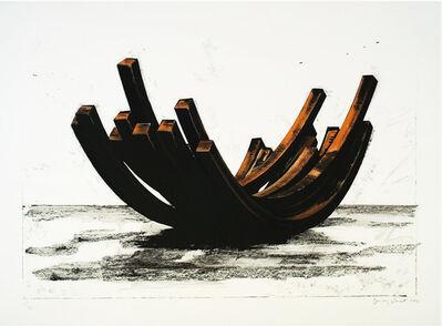 Bernar Venet, '97.5 Arc x 14', 2004