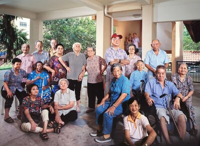 Jing Quek, 'Singapore Idols – Aunties & Uncles', 2006