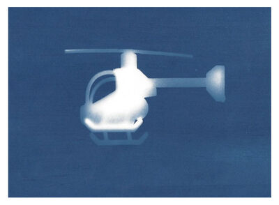 Sarah Irvin, 'Cyanotype Archive: Helicopter', 2019