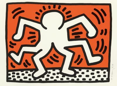 Keith Haring, 'Double Man', 1986