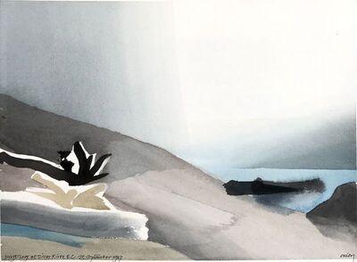 Toni Onley, 'Drift logs at Silver River', 1987