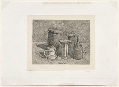 Giorgio Morandi, 'Natura morta con il lume bianco a sinistra, 1928 (Vitali 47)', 1928