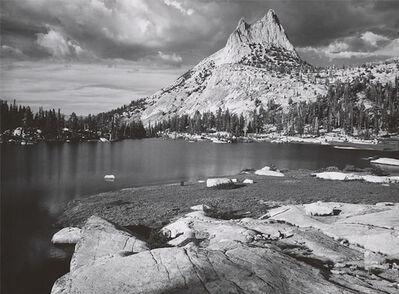 Ansel Adams, 'Cathedral Peak and Lake, Yosemite National Park, CA', 1960