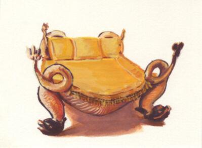 Teresa Moro, 'Mini cama de Dalí', 2017