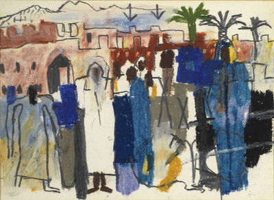 Keith Vaughan, 'North African Scene', 1965