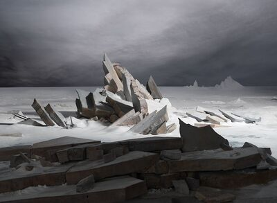 James Casebere, 'Sea of Ice', 2014