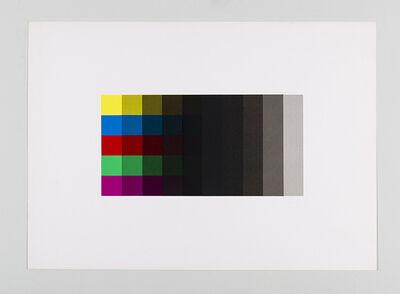 Fausta Squatriti, 'Cinque gradazioni di nero', 1978