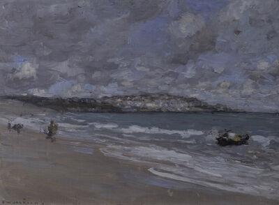 Frederick William Jackson, 'Beach Scene', ca. 1890