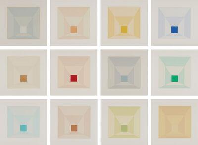 Josef Albers, 'Mitered Squares', 1976
