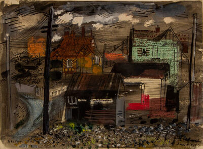John Piper, 'Freshwater Isle of Wight', 1953