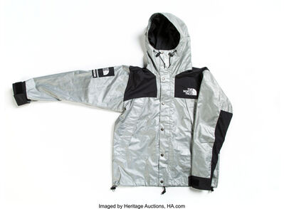 Supreme X The North Face, 'Silver and Black Jacket'