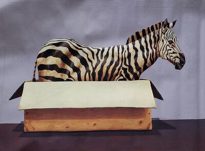 Santiago Garcia, 'Zebra #1034', 2018