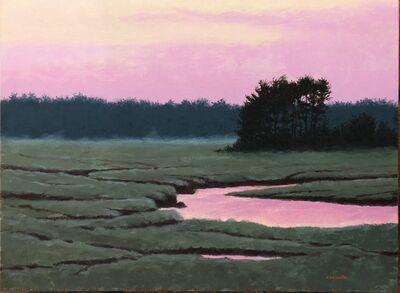 "Patrick Desantis, '""Tidal Marsh, Parsons Beach""', 2019"