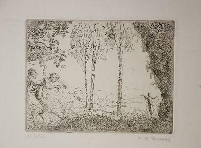 Ker Xavier Roussel, 'Nymphe et Faunes', ca. 1900