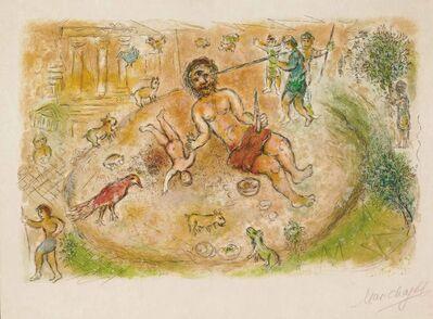 Marc Chagall, 'Polyphemus (M.776, L'Odyssée)', 1974