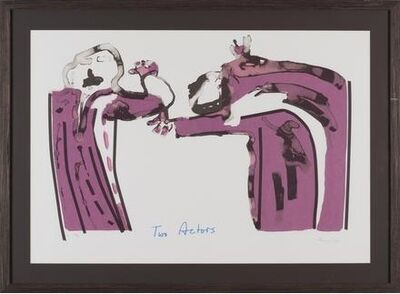 Robert Hodgins, 'Two Actors 19/45', 1999