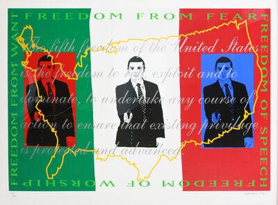 Daniel Joseph Martinez, 'Freedom', 1990