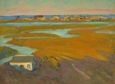 Gertrude Fiske, 'Wells Beach, Maine', 19th -20th Century