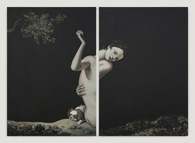 Jesse Mockrin, 'Among the leaves', 2017