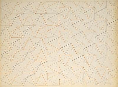Perle Fine, 'All Aglow', 1969