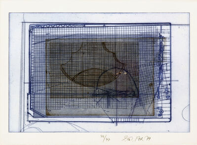 Dieter Roth, 'Brown Cage in a blue one', 1977-1979
