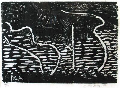 Milton Avery, 'Trees by the Sea', 1953