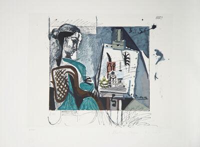 Pablo Picasso, 'Femme Dans L'Atelier', 1979-1982