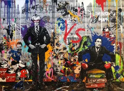 Yuvi, 'Warhol & Dali ', 2017