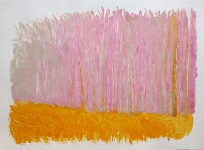 Wolf Kahn, 'Pink Forest', 1986