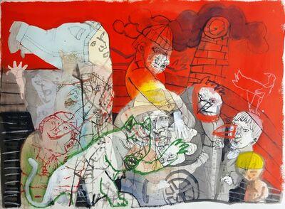 Sergio Moscona, 'Pidiendo permiso para el rayo', 2018
