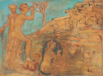 Enrico Baj, 'Famiglia', 1954