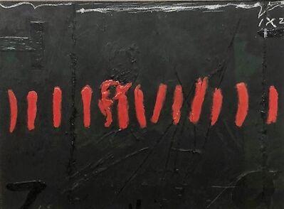 Antoni Tàpies, 'Proyecto de sobrecubierta II', 1970