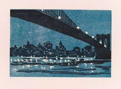 Richard Bosman, 'Brooklyn Bridge', 1996