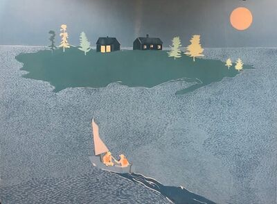 Tom Hammick, 'Island in Maine', 2017