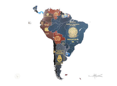 Yanko Tihov, 'South America', 2016