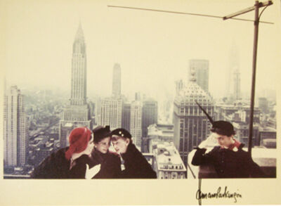 Norman Parkinson, 'Hat Fashions, New York City', 1949