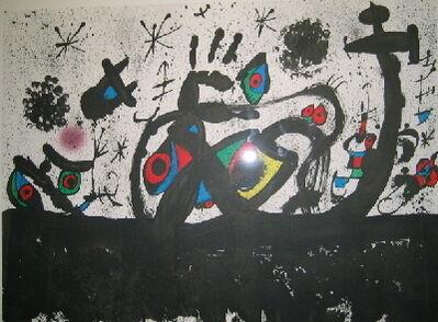 Joan Miró, 'Hommage a Joan Prats', 1971