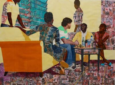 Njideka Akunyili Crosby, 'Something Split and New', 2013